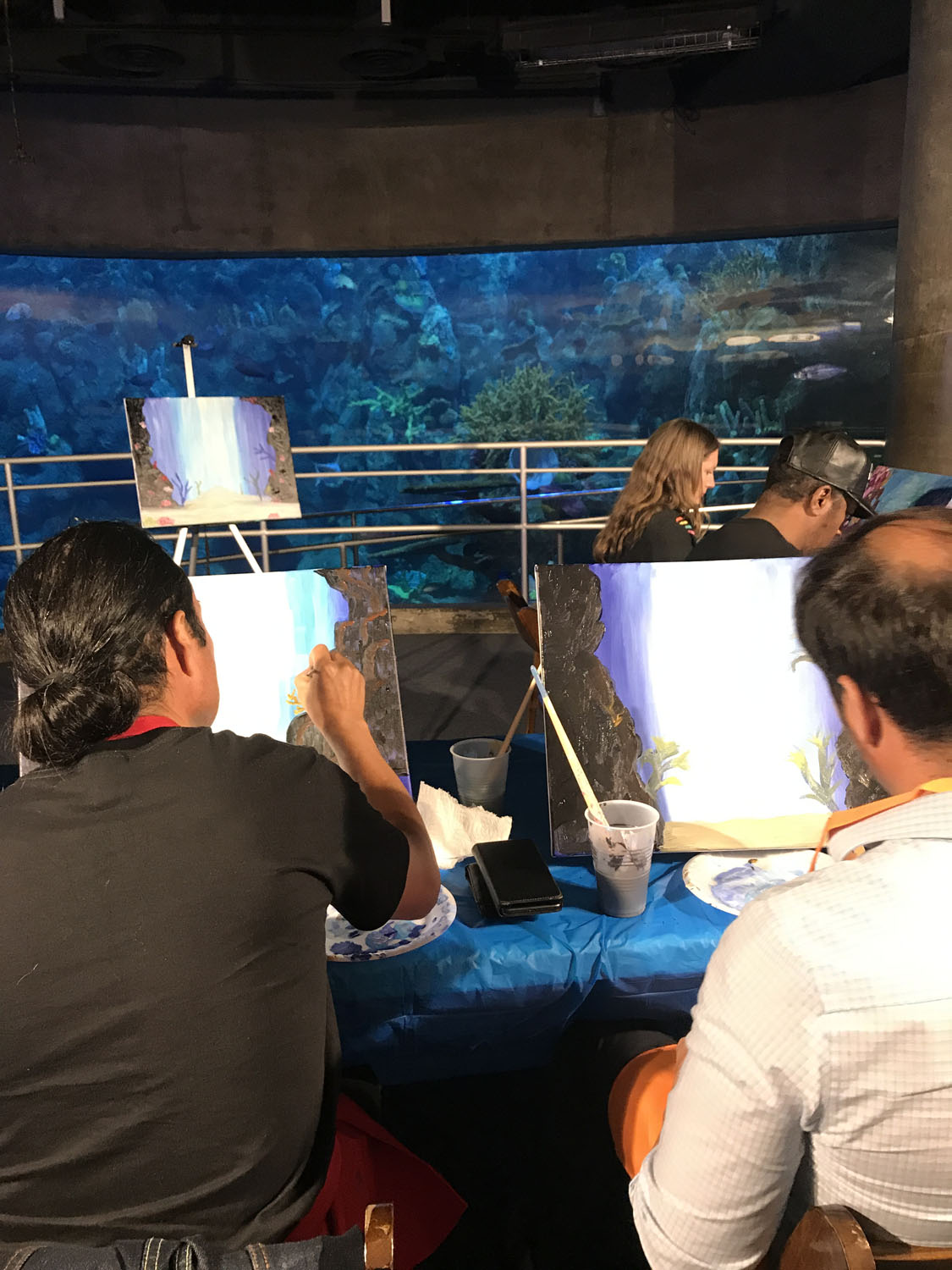 On of our Team Building Individual Painting's in Los Angeles, CA